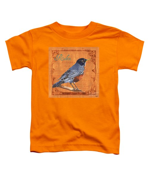 Colorful Songbirds 2 Toddler T-Shirt