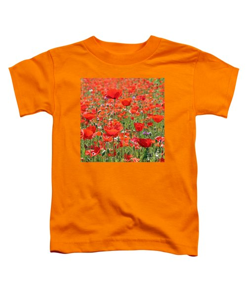 Commemorative Poppies Toddler T-Shirt