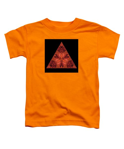 Copper Triangle Abstract Toddler T-Shirt