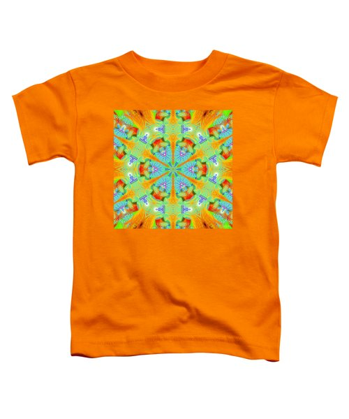 Cosmic Spiral Kaleidoscope 41 Toddler T-Shirt