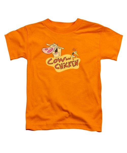 Cow And Chicken - Logo Toddler T-Shirt