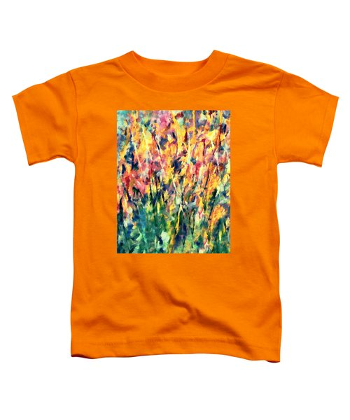 Crescendo Of Spring Abstract Toddler T-Shirt
