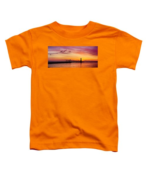 Dawn Of Promise Toddler T-Shirt by Bill Pevlor