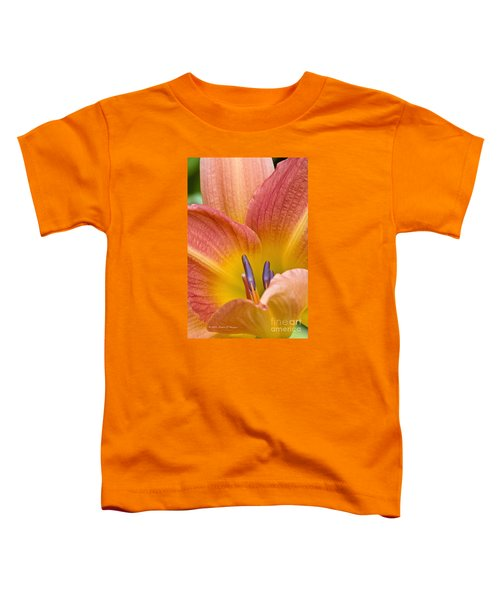 Day Lily  3 Toddler T-Shirt