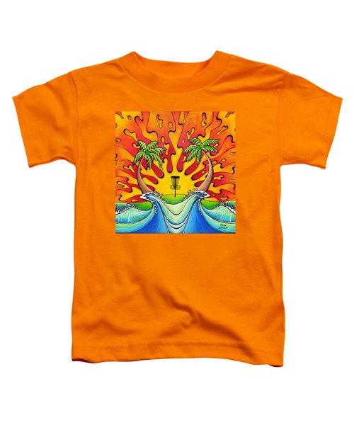 Disc Golfers Paradise Toddler T-Shirt
