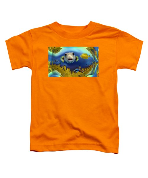 Diver's Perspective Toddler T-Shirt