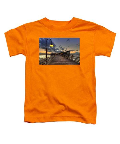 Dock Lights At Jekyll Island Toddler T-Shirt