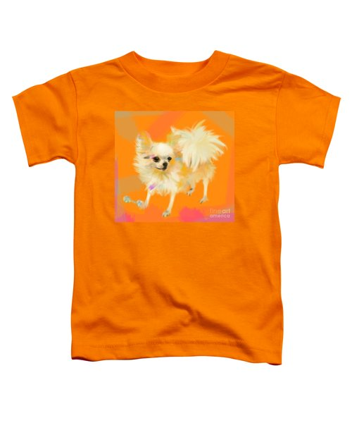 Dog Chihuahua Orange Toddler T-Shirt