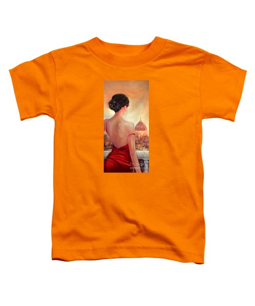 Evening In Florence Toddler T-Shirt