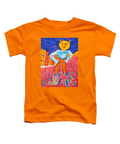 Feet Of Clay Toddler T-Shirt