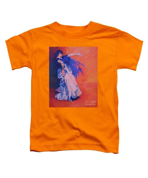 Flamenco-john Singer-sargent Toddler T-Shirt