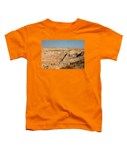 Fossil Exhibit Trail Badlands National Park Toddler T-Shirt
