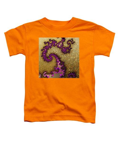 Gilded Fractal 1 Toddler T-Shirt