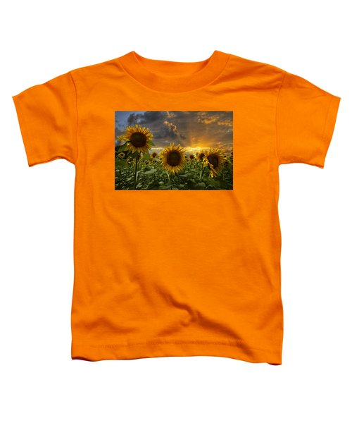 Toddler T-Shirt featuring the photograph Glory by Debra and Dave Vanderlaan
