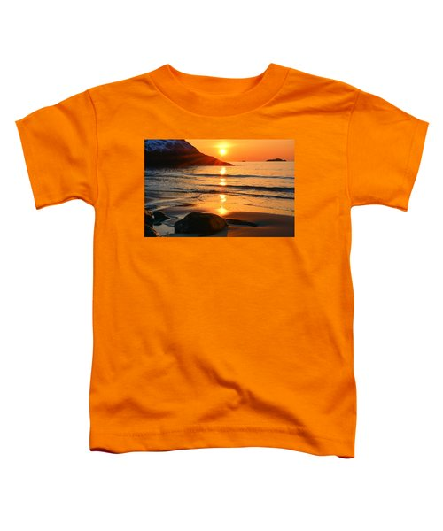 Golden Morning Singing Beach Toddler T-Shirt