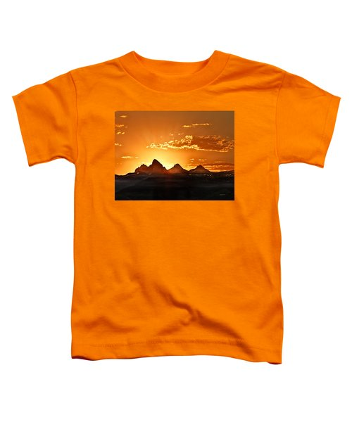 Grand Teton Sunrise Toddler T-Shirt