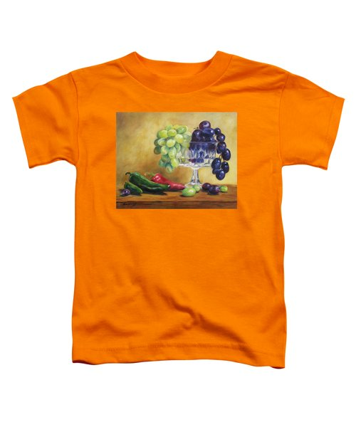 Grapes And Jalapenos Toddler T-Shirt