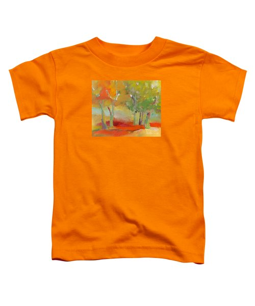 Green Trees Toddler T-Shirt