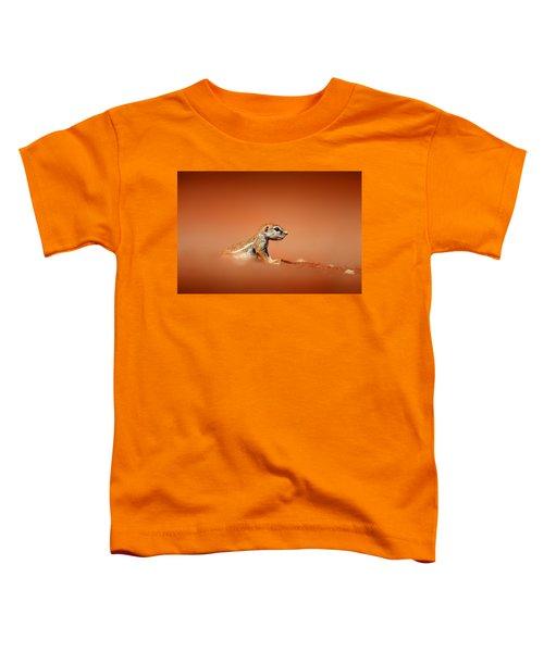 Ground Squirrel On Red Desert Sand Toddler T-Shirt