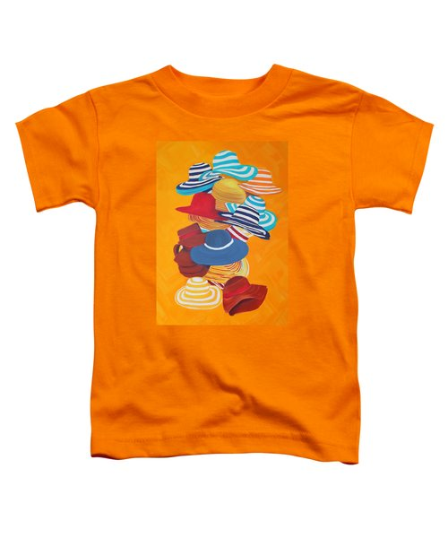 Hats Off Toddler T-Shirt