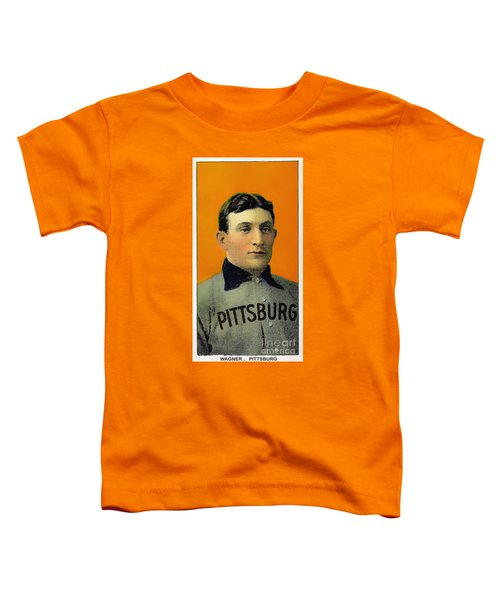 Honus Wagner Baseball Card 0838 Toddler T-Shirt