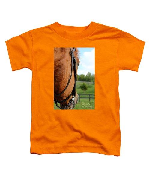 Horse View Toddler T-Shirt