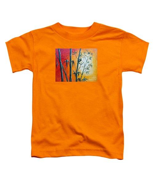 Hot Bamboo Days Toddler T-Shirt