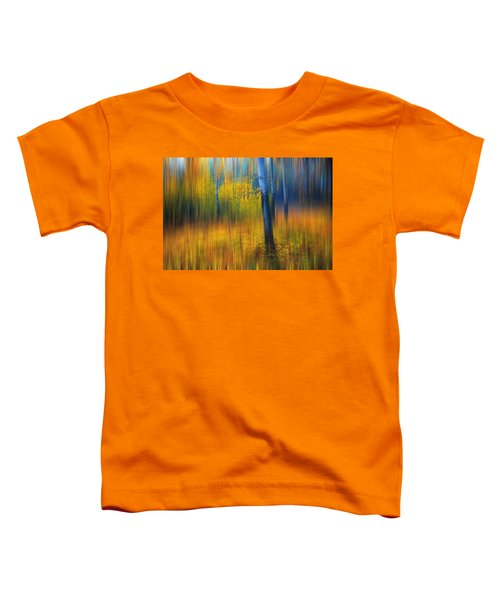 In The Golden Woods. Impressionism Toddler T-Shirt