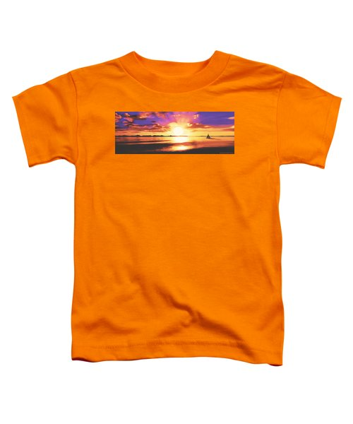 Into The Sunset Toddler T-Shirt