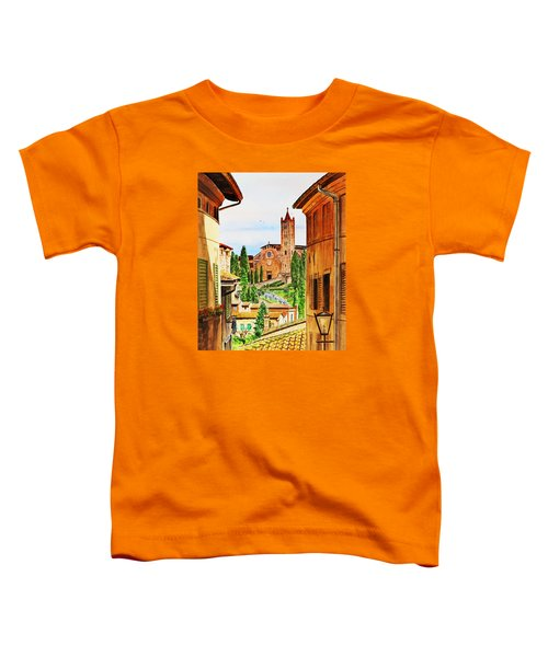 Italy Siena Toddler T-Shirt