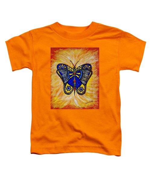 Joyous Butterfly Toddler T-Shirt