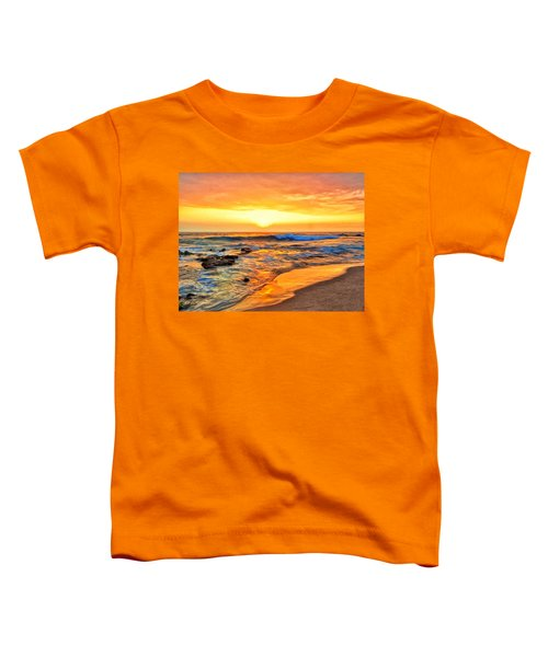Kailua Kona Beach Sunset Toddler T-Shirt