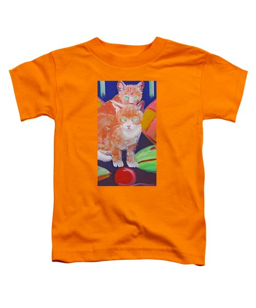 kittens With A Ball of Wool Toddler T-Shirt