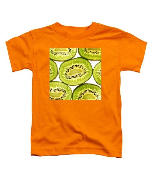 Kiwi Fruit IIi Toddler T-Shirt by Paul Ge