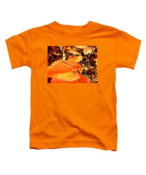 Ladybug At Fall Toddler T-Shirt