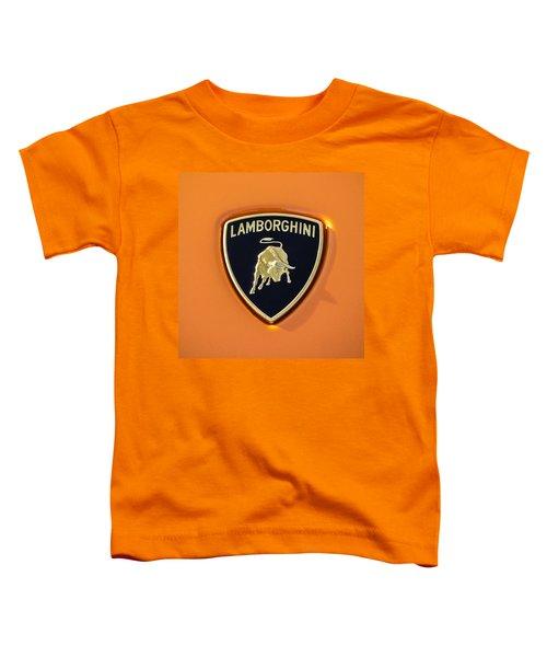 Lamborghini Emblem -0525c55 Toddler T-Shirt