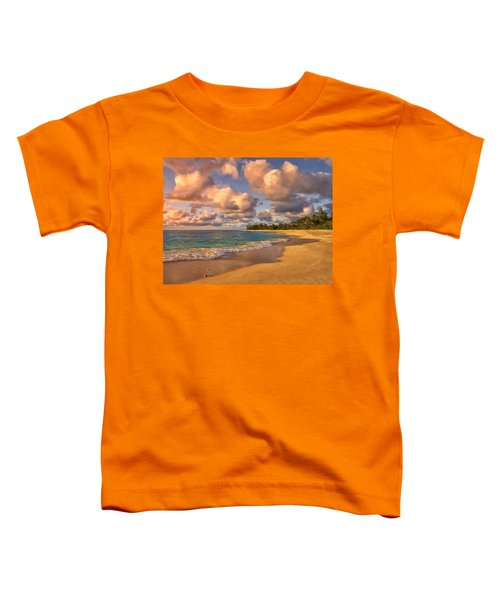 Late Afternoon At Sunset Beach Toddler T-Shirt