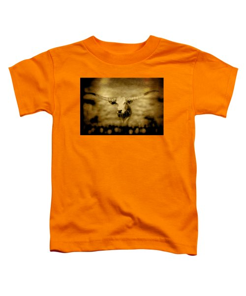 Longhorn Bull Toddler T-Shirt