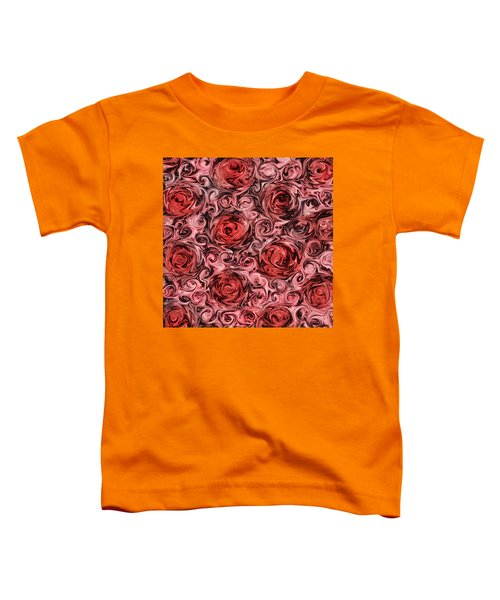 Marsala Roses Toddler T-Shirt
