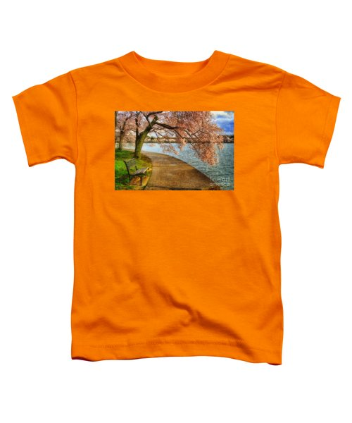 Meet Me At Our Bench Toddler T-Shirt