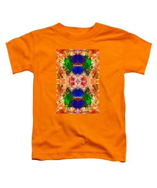 Merging Consciousness With Abstract Artwork By Omaste Witkowski  Toddler T-Shirt