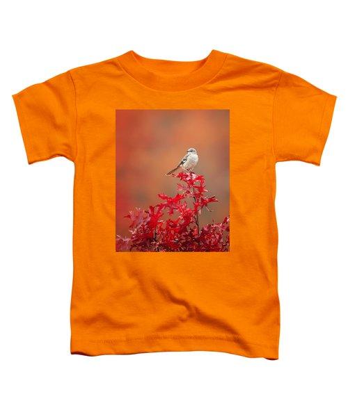 Mockingbird Autumn Toddler T-Shirt by Bill Wakeley