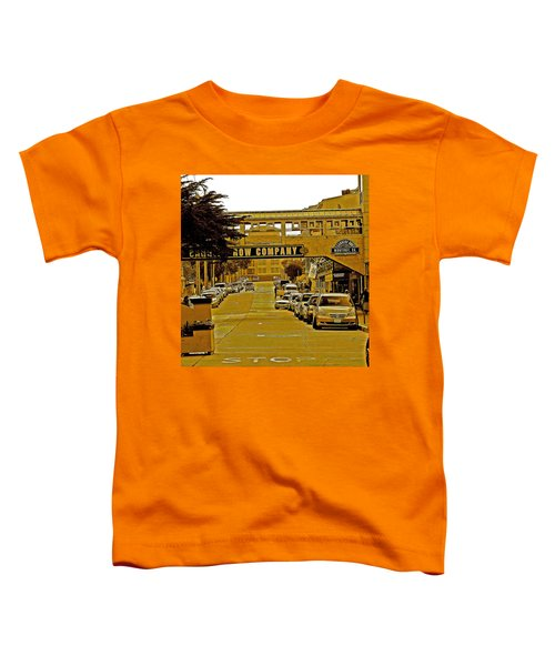 Monterey Cannery Row Company Toddler T-Shirt