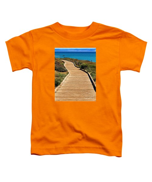 Moonstone Beach Park By Diana Sainz Toddler T-Shirt