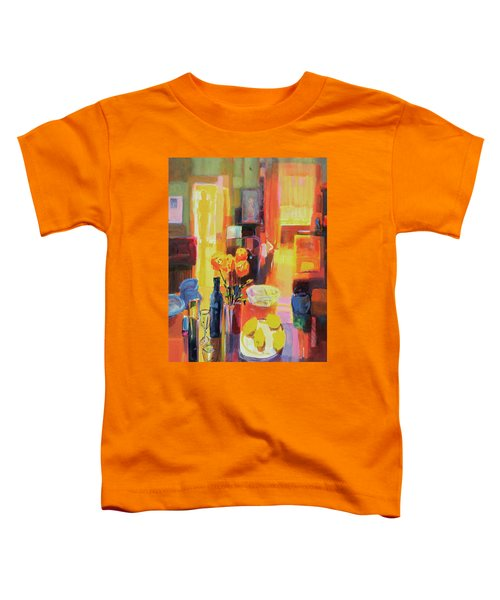 Morning In Paris Toddler T-Shirt