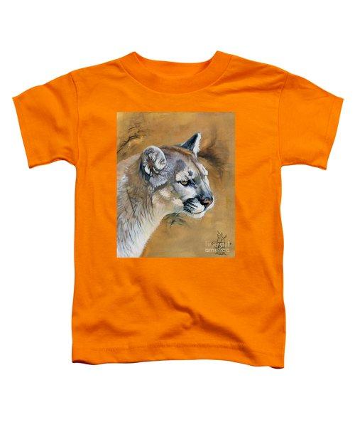 Mountain Lion Toddler T-Shirt