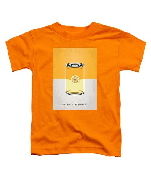 My Star Warhols 3cpo Minimal Can Poster Toddler T-Shirt