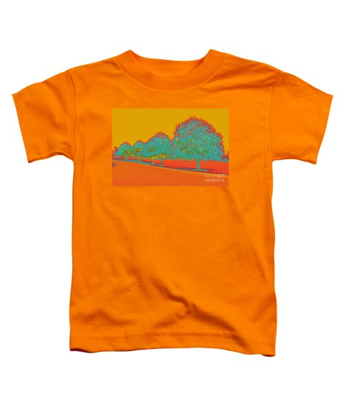 Neon Trees In The Fall Toddler T-Shirt