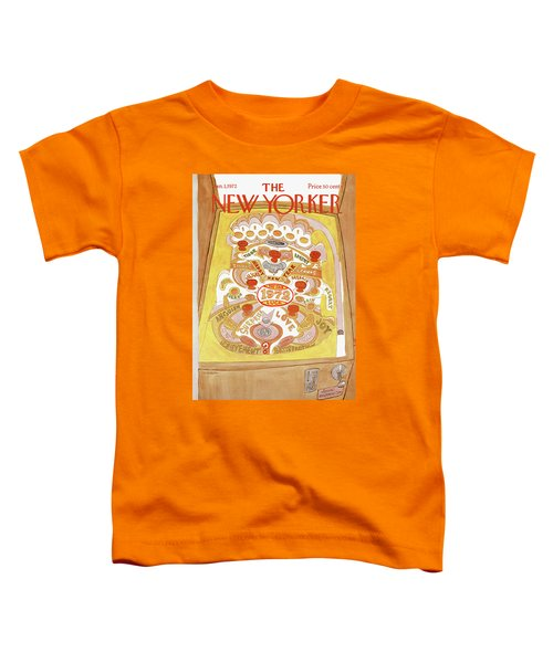 New Yorker January 1st, 1972 Toddler T-Shirt