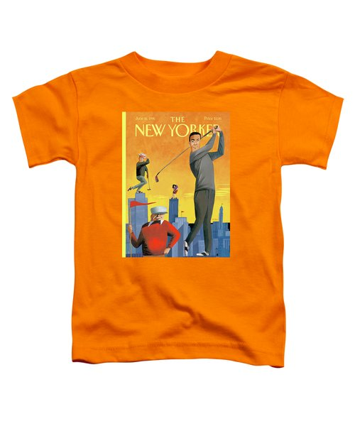 New Yorker June 10th, 1996 Toddler T-Shirt